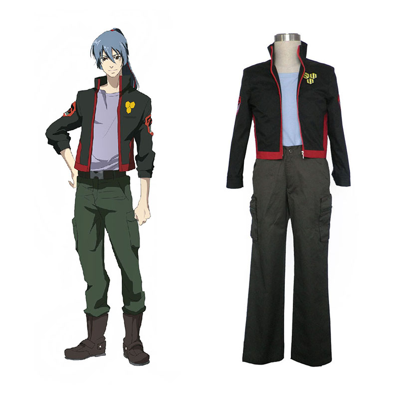 Macross F Ozma Lee 1 SMS Team Cosplay Costumes New Zealand Online Store