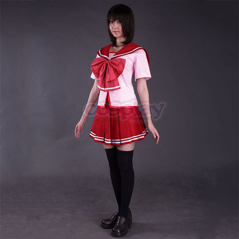 To Heart 2 CostumesKousaka Tamaki 2 Summer Sailor Cosplay Costumes New Zealand Online Store