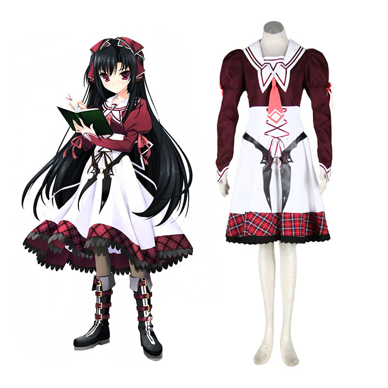 11eyes: Tsumi to Batsu to Aganai no Shōjo Kanae Kuroshiba Cosplay Costumes New Zealand Online Store