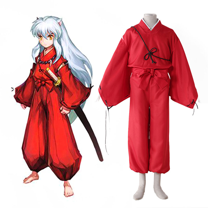 Inuyasha 2 Red Cosplay Costumes New Zealand Online Store