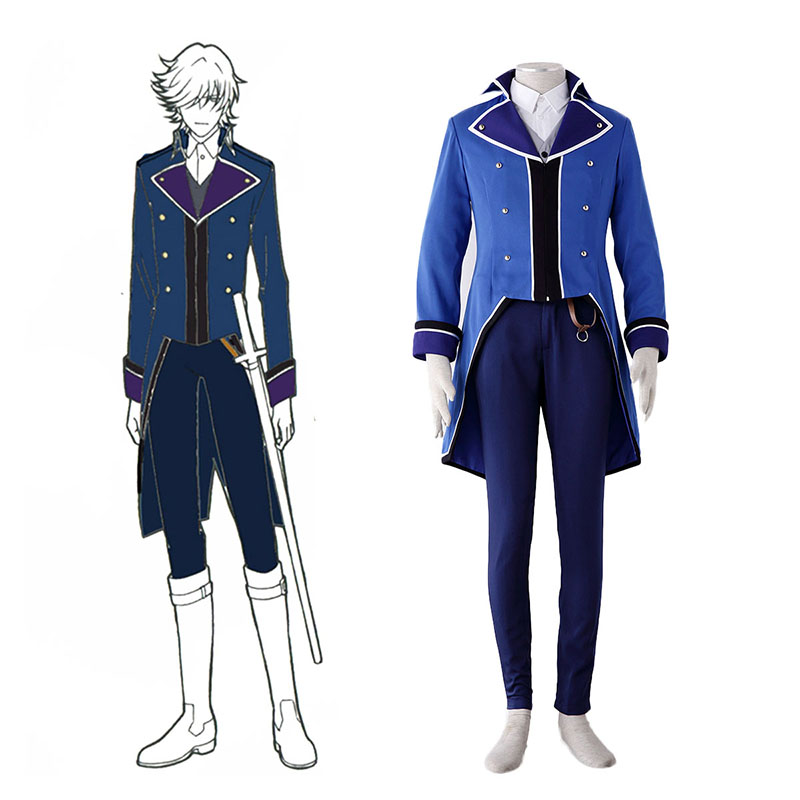 K Blue Organization Uniforms Cosplay Costumes New Zealand Online Store