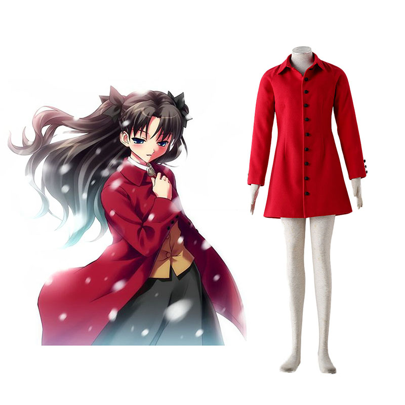 The Holy Grail War Tohsaka Rin 4 Red Cosplay Costumes New Zealand Online Store