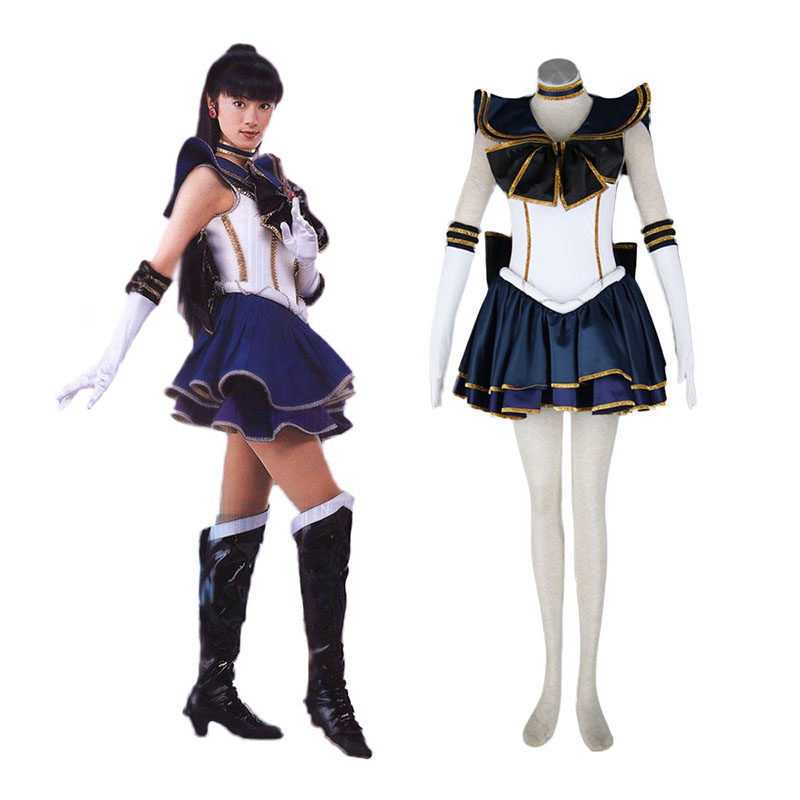 Sailor Moon Meiou Setsuna 2 Cosplay Costumes New Zealand Online Store