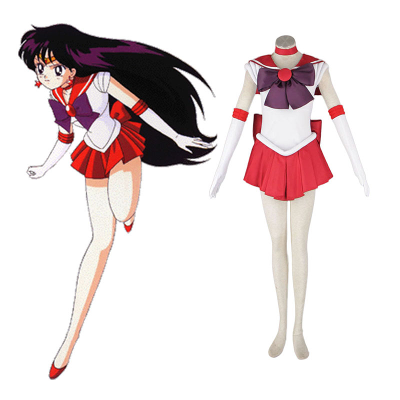 Sailor Moon Hino Rei 1 Cosplay Costumes New Zealand Online Store