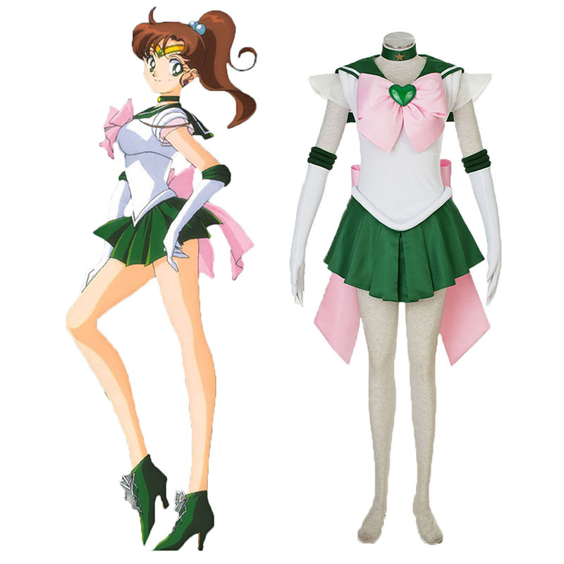 Sailor Moon Kino Makoto 3 Cosplay Costumes New Zealand Online Store