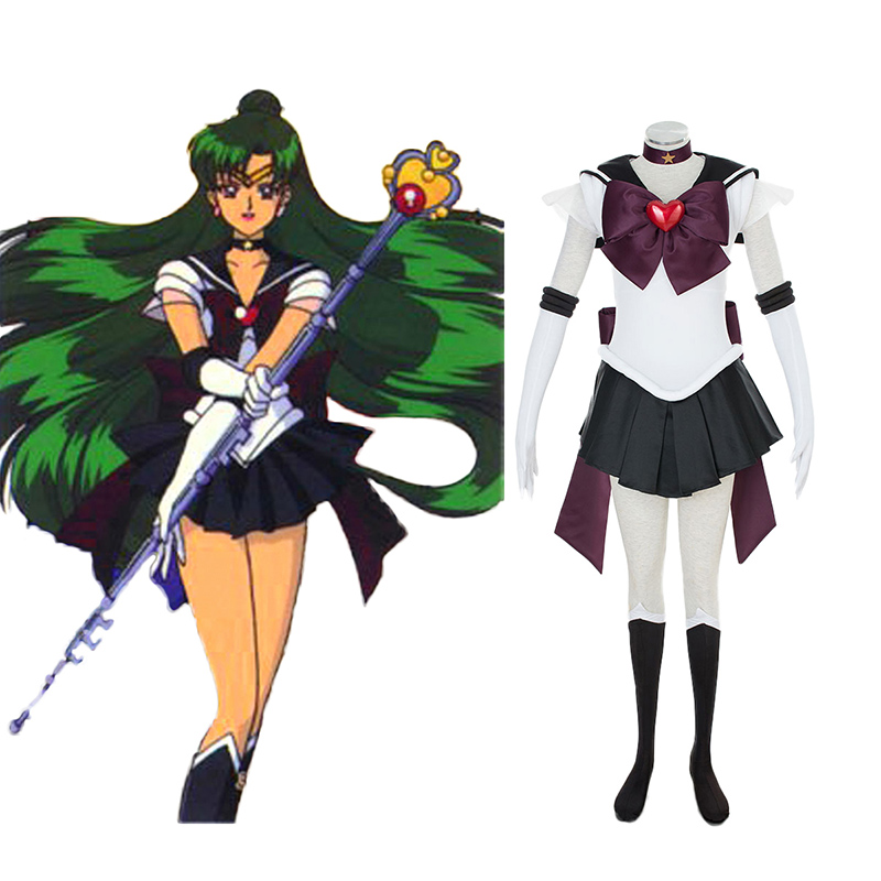Sailor Moon Meiou Setsuna 3 Cosplay Costumes New Zealand Online Store