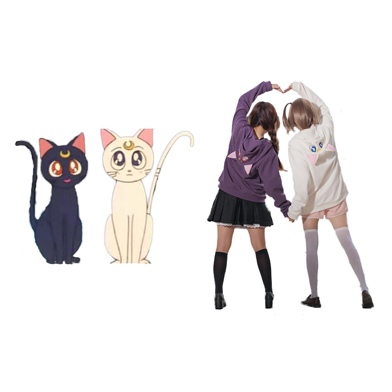 Sailor Moon Artemis White Cosplay Costumes New Zealand Online Store