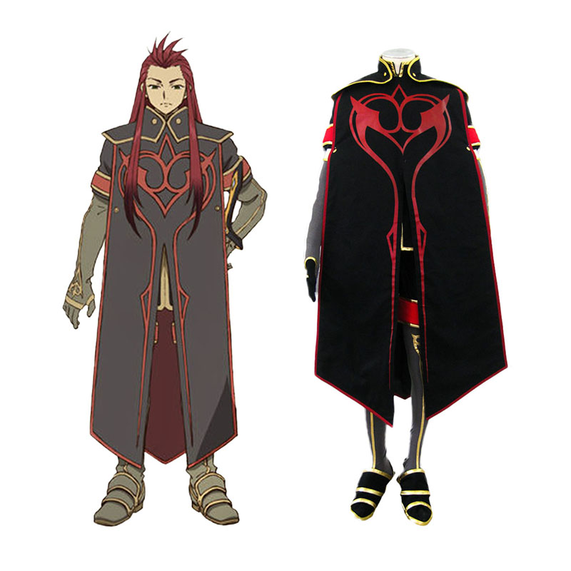 Tales of the Abyss Asch 1 Cosplay Costumes New Zealand Online Store