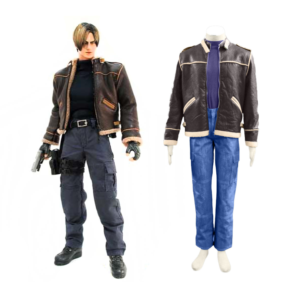 Resident Evil 4 Leon S. Kennedy Cosplay Costume New Zealand Online Store