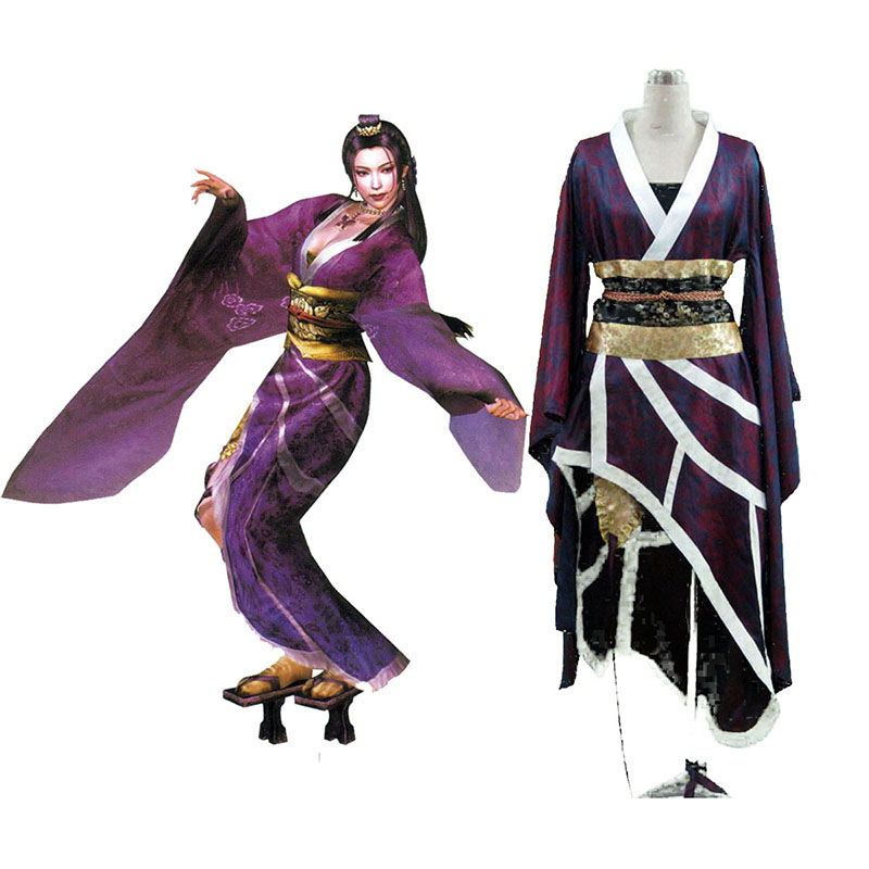 Samurai Warriors Nouhime 1 Cosplay Costumes New Zealand Online Store