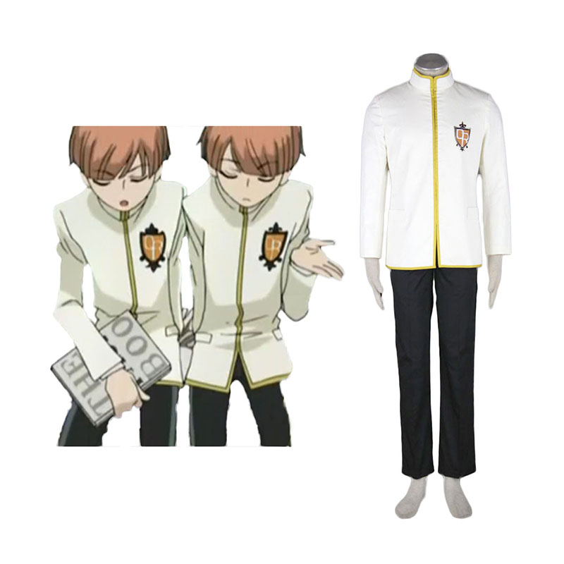 Ouran High School Host Club Male Uniforms Yellow Cosplay Costumes New Zealand Online Store