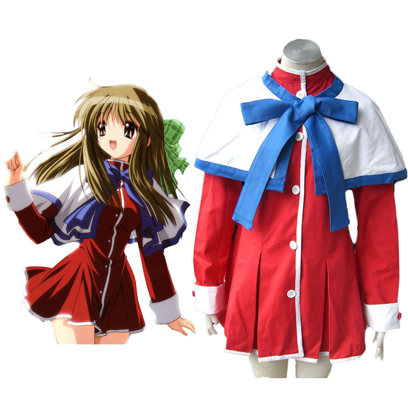 Kanon High School Uniforms Blue Ribbon Cosplay Costumes New Zealand Online Store