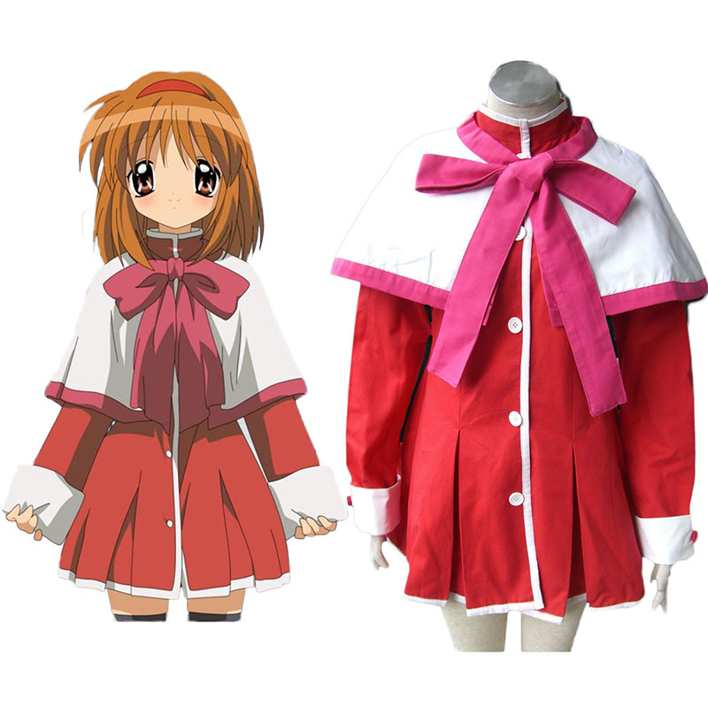 Kanon High School Uniforms Pink Ribbon Cosplay Costumes New Zealand Online Store