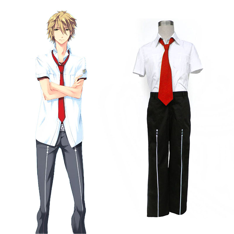 Starry Sky Male Summer School Uniform 1 Cosplay Costumes New Zealand Online Store