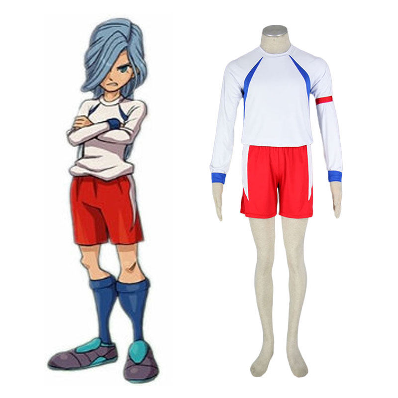 Inazuma Eleven British Team Soccer Jersey 2 Cosplay Costumes New Zealand Online Store