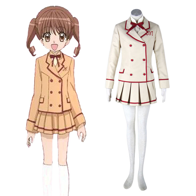 Yumeiro Patissiere Female School Uniform Cosplay Costumes New Zealand Online Store