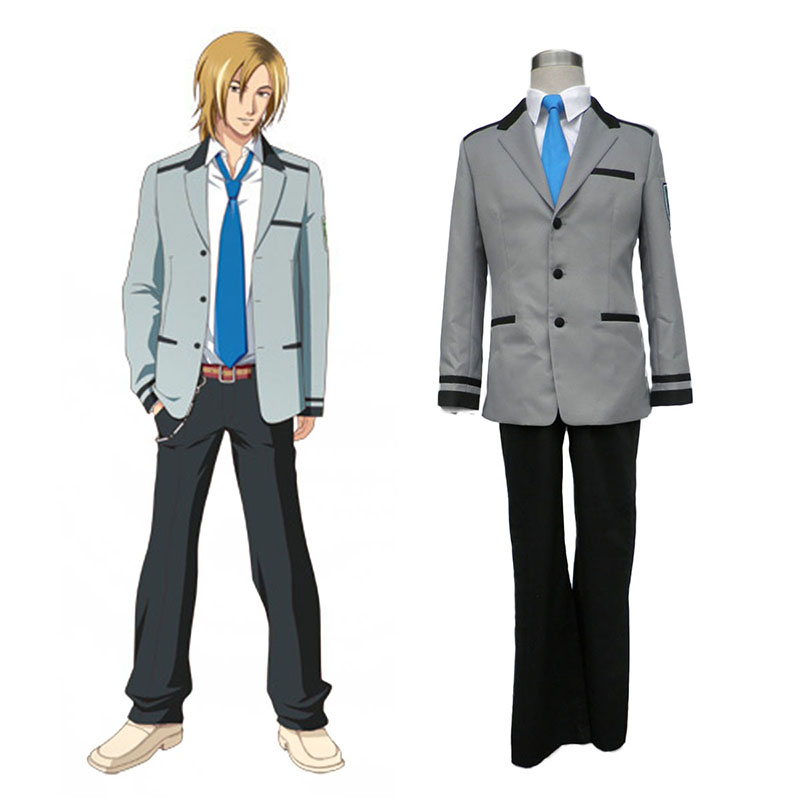 Tokimeki Memorial Girl's Side Male School Uniform Cosplay Costumes New Zealand Online Store