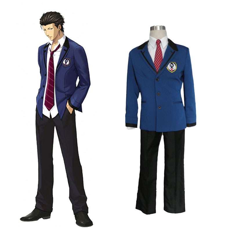 Tokimeki Memorial Girl's Side: 3 Story Male Uniform 2 Cosplay Costumes New Zealand Online Store