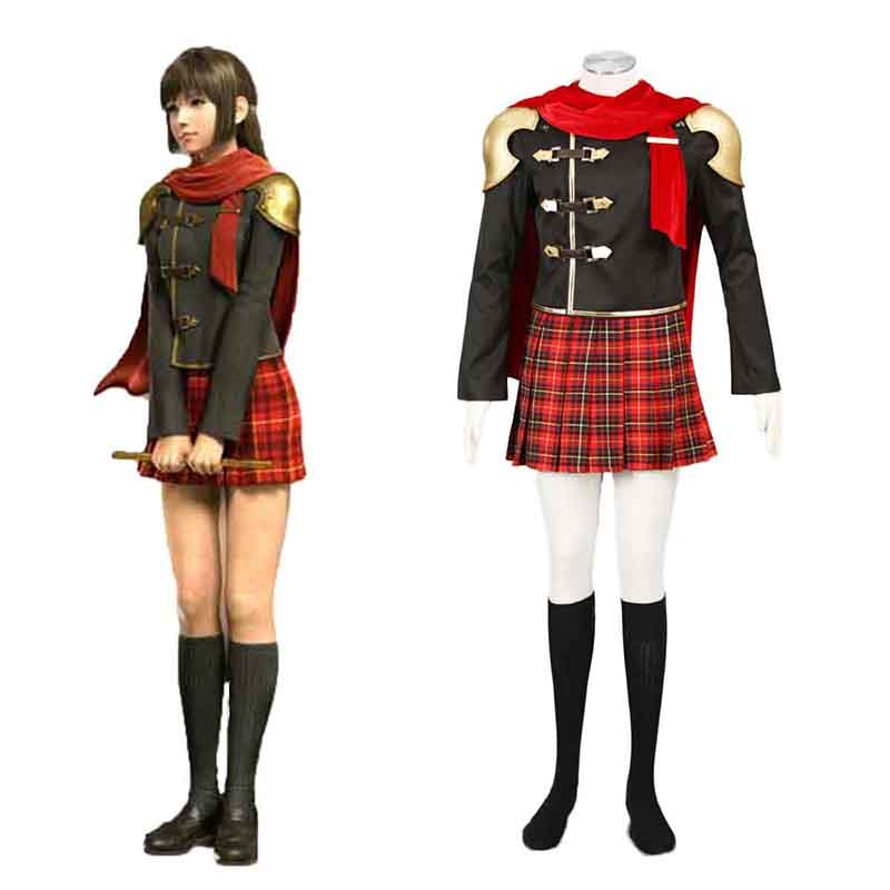 Final Fantasy Type-0 Deuce 1 Cosplay Costumes New Zealand Online Store