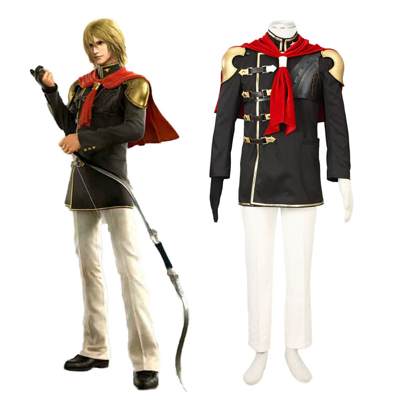 Final Fantasy Type-0 Trey 1 Cosplay Costumes New Zealand Online Store