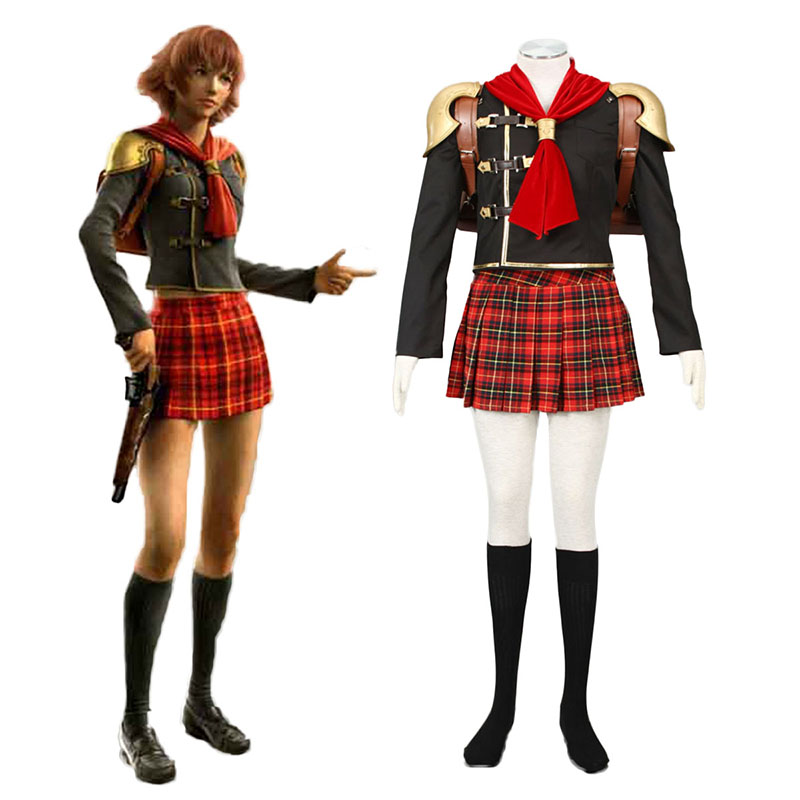 Final Fantasy Type-0 Cater 1 Cosplay Costumes New Zealand Online Store