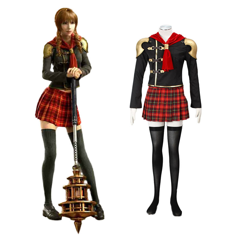 Final Fantasy Type-0 Cinque 1 Cosplay Costumes New Zealand Online Store