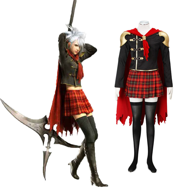 Final Fantasy Type-0 Sice 1 Cosplay Costumes New Zealand Online Store