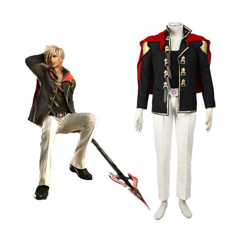 Final Fantasy Type-0 Nine 1 Cosplay Costumes New Zealand Online Store
