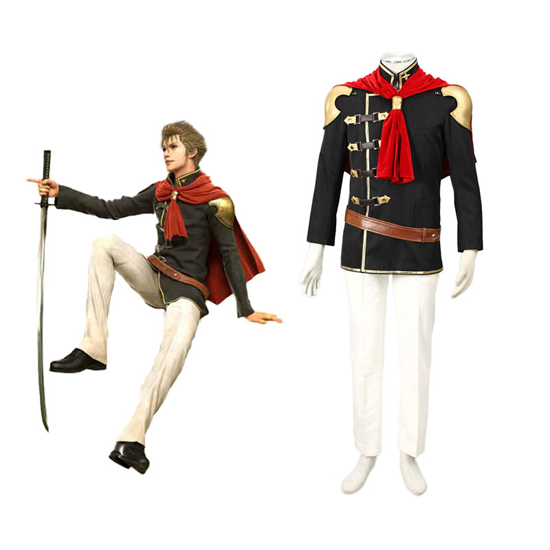 Final Fantasy Type-0 Jack 1 Cosplay Costumes New Zealand Online Store