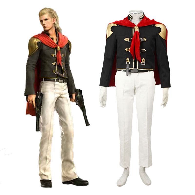 Final Fantasy Type-0 King 1 Cosplay Costumes New Zealand Online Store