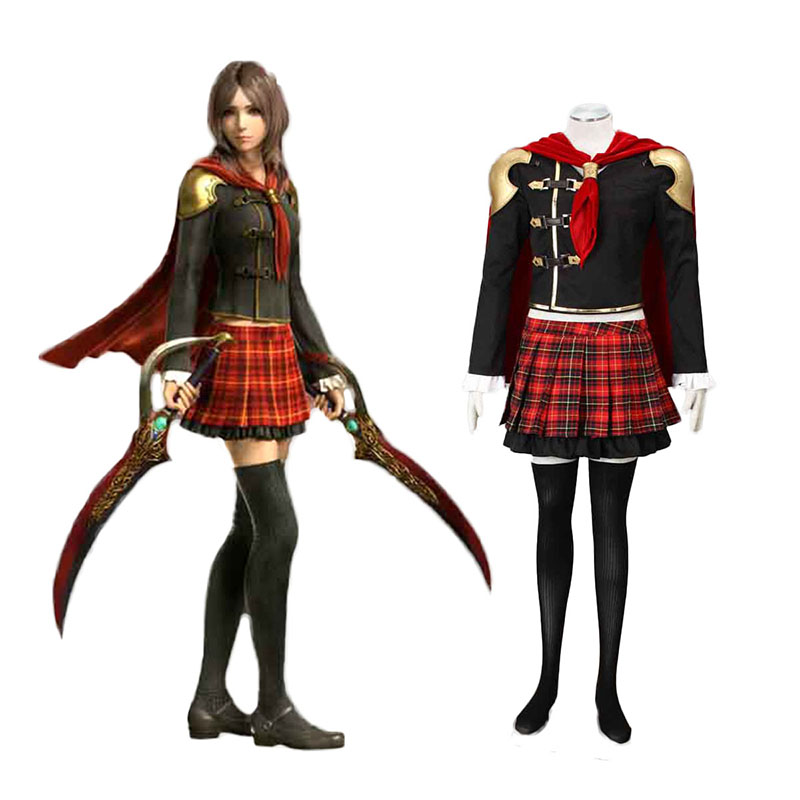 Final Fantasy Type-0 Rem Tokimiya 1 Cosplay Costumes New Zealand Online Store