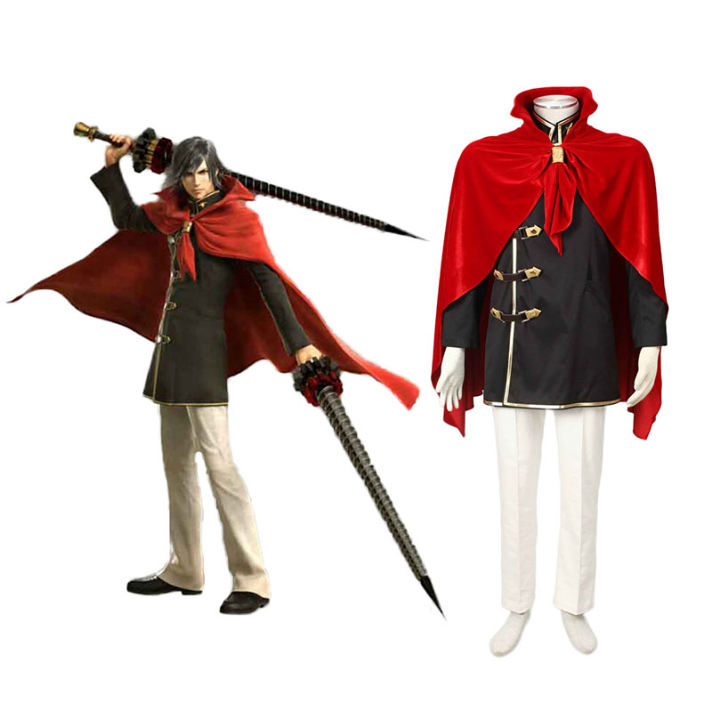 Final Fantasy Type-0 Machina Kunagiri 1 Cosplay Costumes New Zealand Online Store