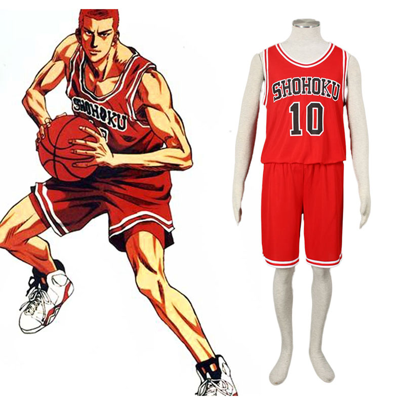 Slam Dunk Hanamichi Sakuragi 1 Cosplay Costumes New Zealand Online Store