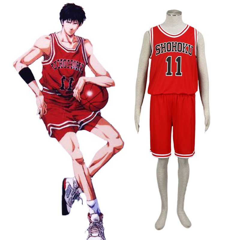 Slam Dunk Kaede Rukawa 1 Cosplay Costumes New Zealand Online Store