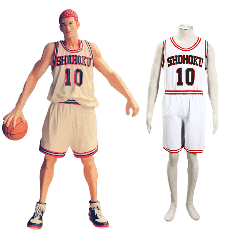 Slam Dunk Hanamichi Sakuragi 2 Cosplay Costumes New Zealand Online Store