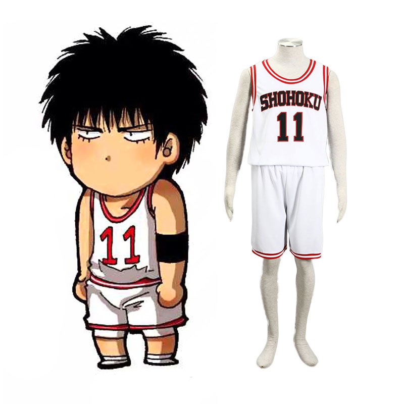 Slam Dunk Kaede Rukawa 2 Cosplay Costumes New Zealand Online Store