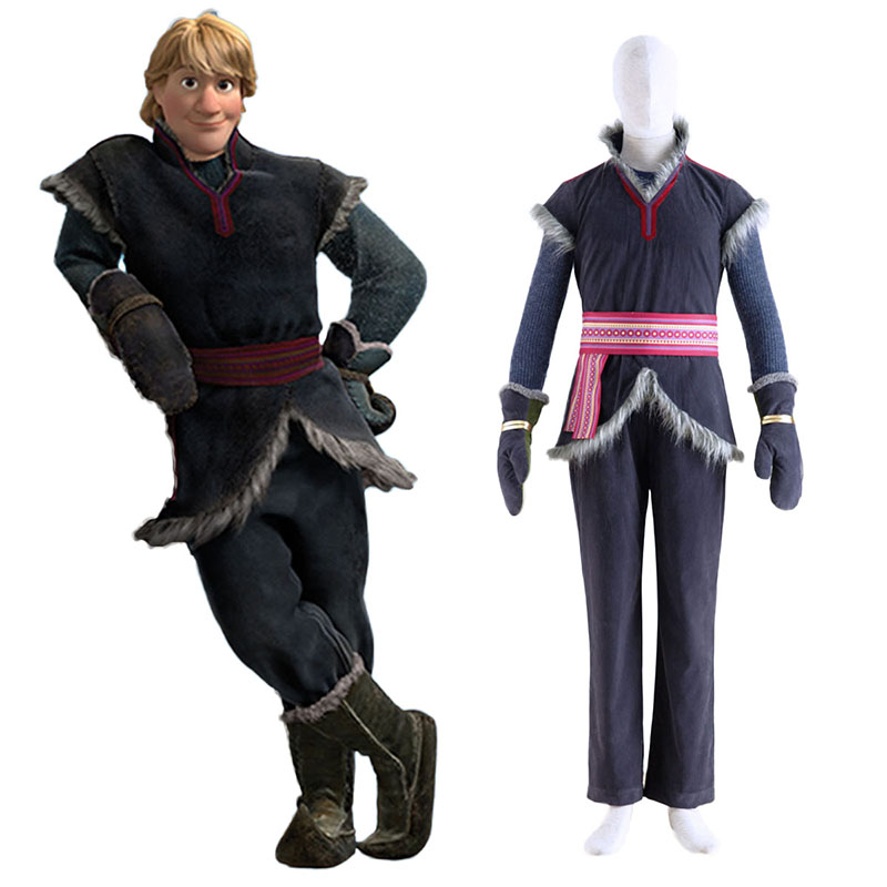 Frozen Kristoff 1 Cosplay Costumes New Zealand Online Store