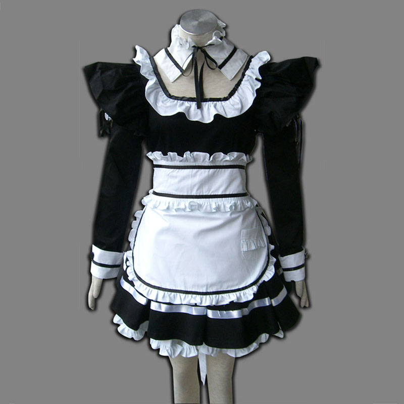 Black Maid Uniform 1 Cosplay Costumes New Zealand Online Store