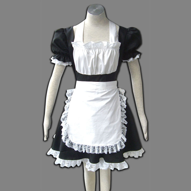 Maid Uniform 2 Black Winged Angle Cosplay Costumes New Zealand Online Store