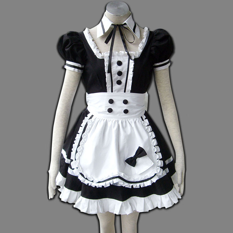 Maid Uniform 5 Princess Of Dark Cosplay Costumes New Zealand Online Store