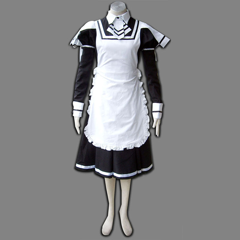 Maid Uniform 7 Deadly Weapon Cosplay Costumes New Zealand Online Store