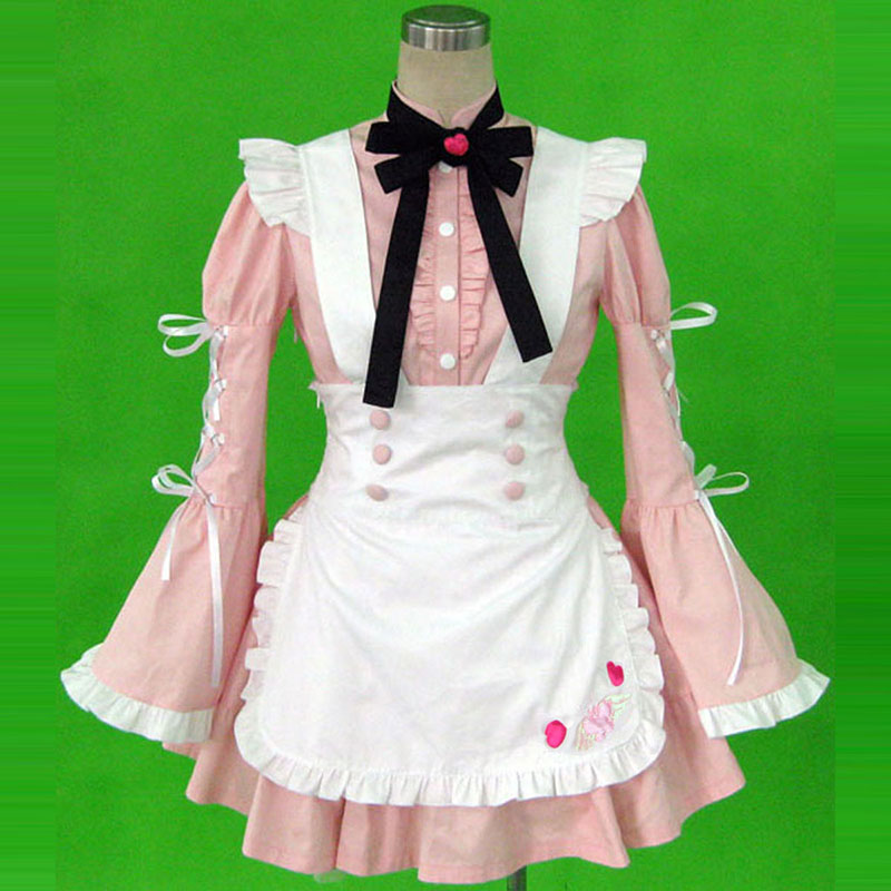 Maid Uniform 14 Cherry Snow Cosplay Costumes New Zealand Online Store