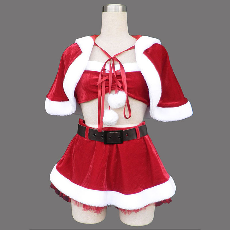 Red Christmas Lady Dress 5 Cosplay Costumes New Zealand Online Store