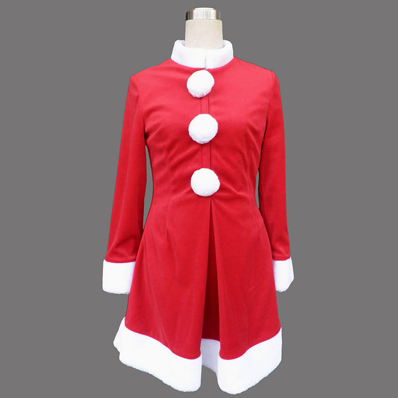 Red Christmas Lady Dress 6 Cosplay Costumes New Zealand Online Store