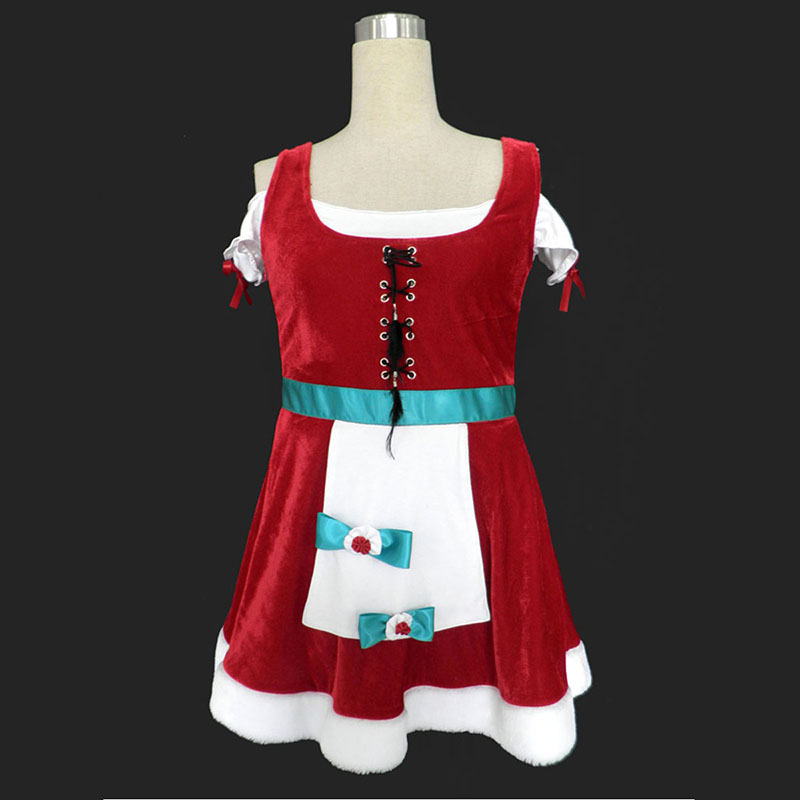 Christmas Lady Dress 8 Cosplay Costumes New Zealand Online Store