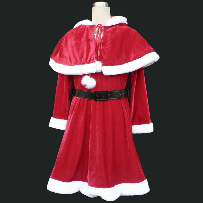 Christmas Lady Dress 9 Red Cosplay Costumes New Zealand Online Store