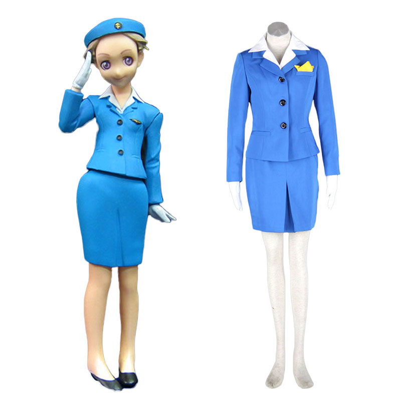 Aviation Uniform Culture Stewardess 1 Cosplay Costumes New Zealand Online Store