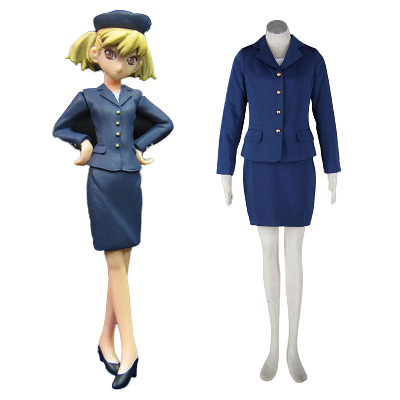 Aviation Uniform Culture Stewardess 3 Cosplay Costumes New Zealand Online Store