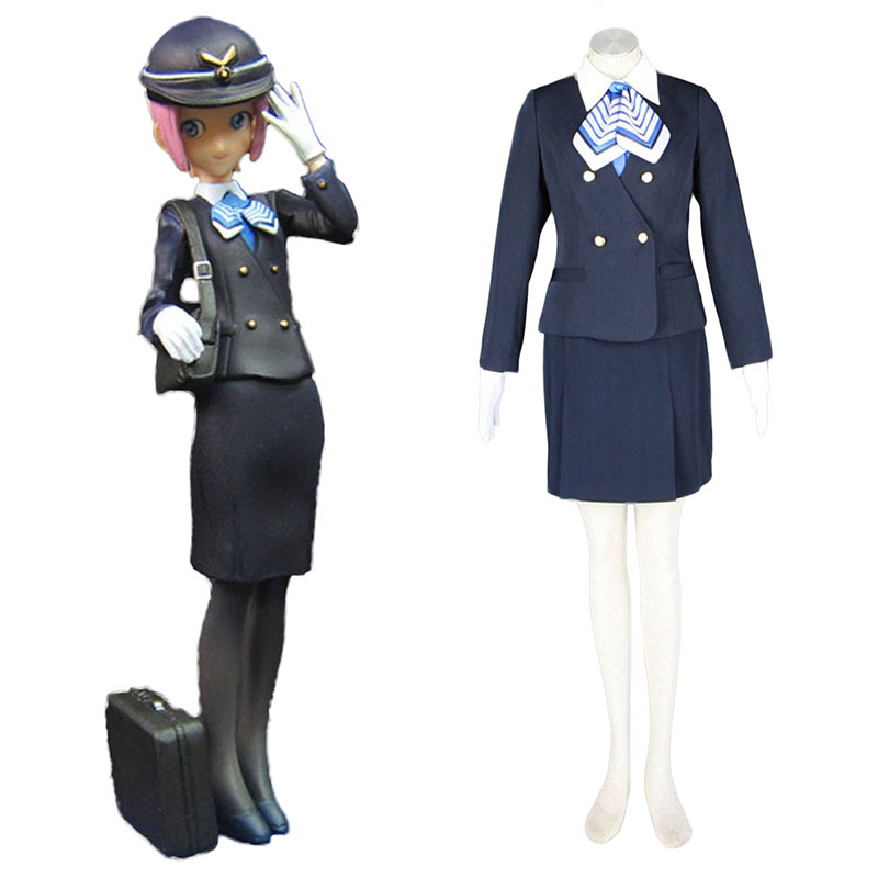 Aviation Uniform Culture Stewardess 7 Cosplay Costumes New Zealand Online Store