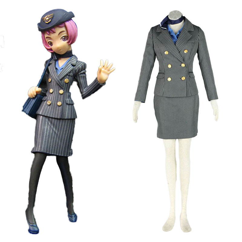 Aviation Uniform Culture Stewardess 8 Cosplay Costumes New Zealand Online Store